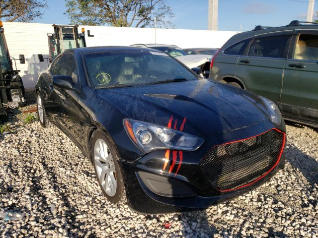 Salvage cars for sale from Copart Homestead, FL: 2013 Hyundai Genesis CO