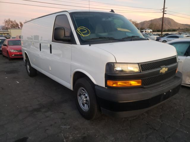 Salvage cars for sale from Copart Colton, CA: 2019 Chevrolet Express G2