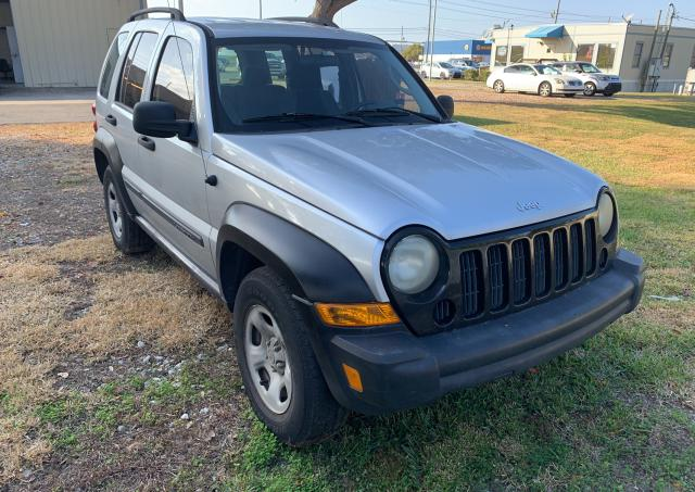 Salvage cars for sale from Copart Orlando, FL: 2007 Jeep Liberty SP