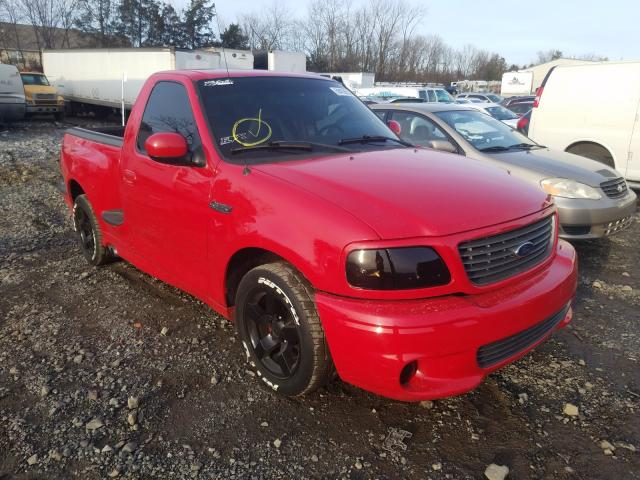 Salvage cars for sale from Copart Pennsburg, PA: 2001 Ford F150 SVT L