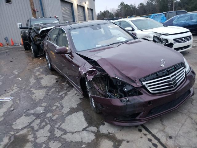Mercedes-Benz S 550 4matic salvage cars for sale: 2012 Mercedes-Benz S 550 4matic