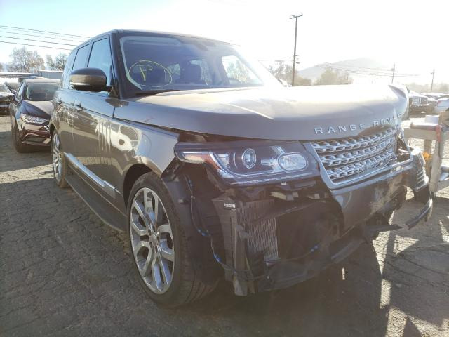 Salvage cars for sale from Copart Colton, CA: 2014 Land Rover Range Rover