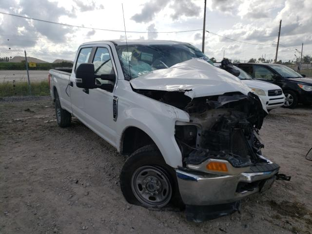 Salvage cars for sale at West Palm Beach, FL auction: 2017 Ford F250 Super