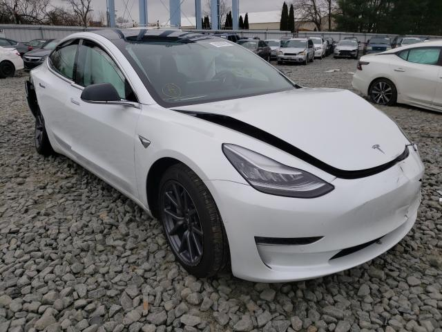 Salvage cars for sale from Copart Windsor, NJ: 2019 Tesla Model 3