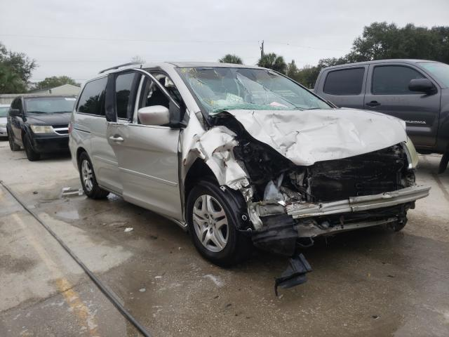 Salvage cars for sale from Copart Punta Gorda, FL: 2006 Honda Odyssey EX