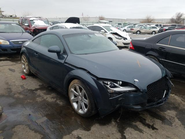 Salvage cars for sale from Copart Tulsa, OK: 2010 Audi TT Premium