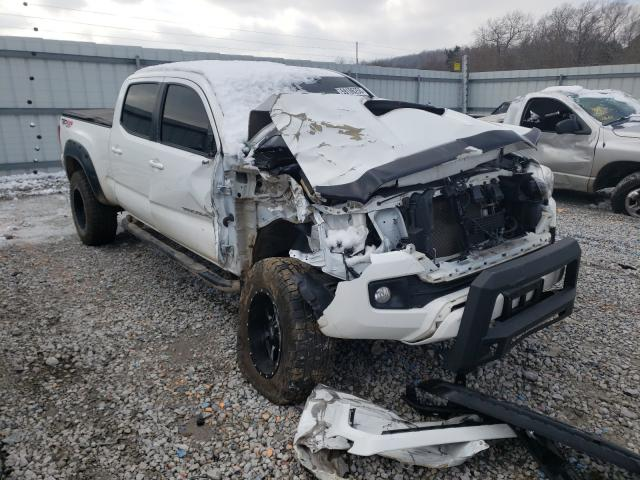 Salvage cars for sale from Copart Prairie Grove, AR: 2016 Toyota Tacoma DOU