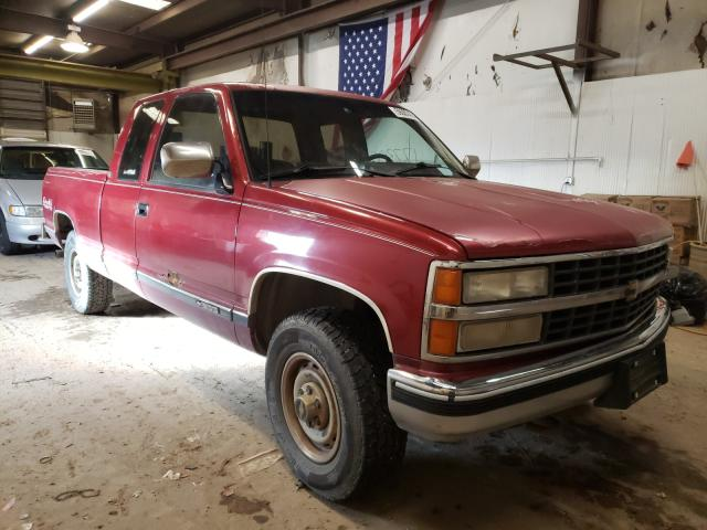 Chevrolet GMT-400 K1 salvage cars for sale: 1991 Chevrolet GMT-400 K1