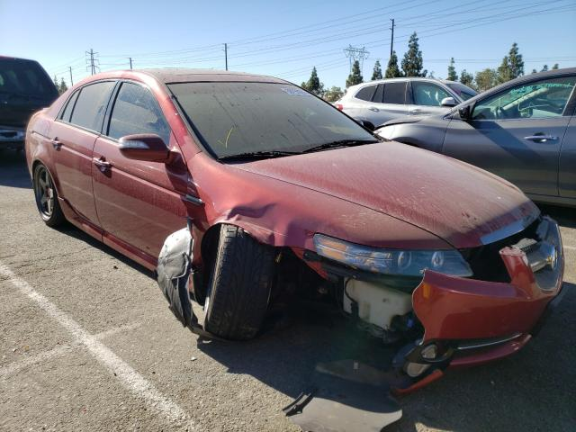 Salvage cars for sale from Copart Rancho Cucamonga, CA: 2007 Acura TL Type S