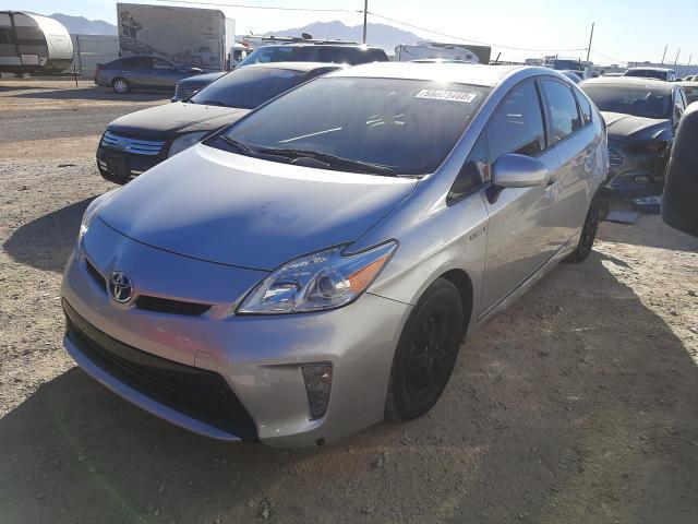 из сша 2012 Toyota Prius 1.8L JTDKN3DU7C5534760