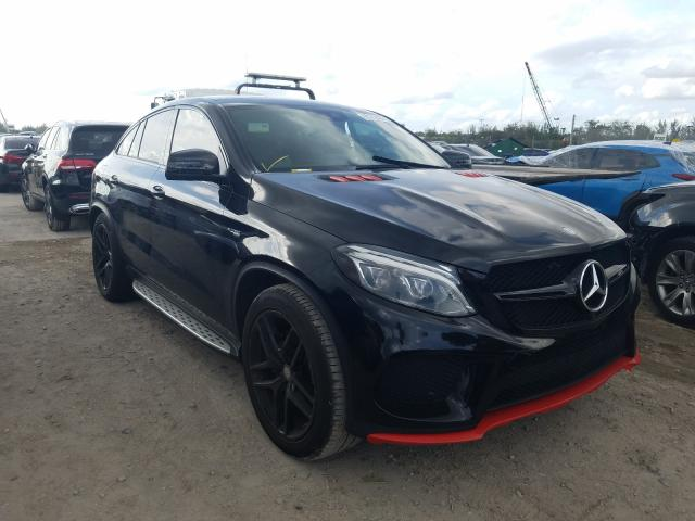 Salvage cars for sale at West Palm Beach, FL auction: 2016 Mercedes-Benz GLE Coupe