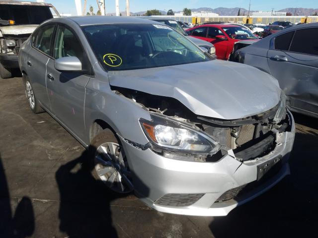 2016 NISSAN SENTRA S 3N1AB7APXGY238380