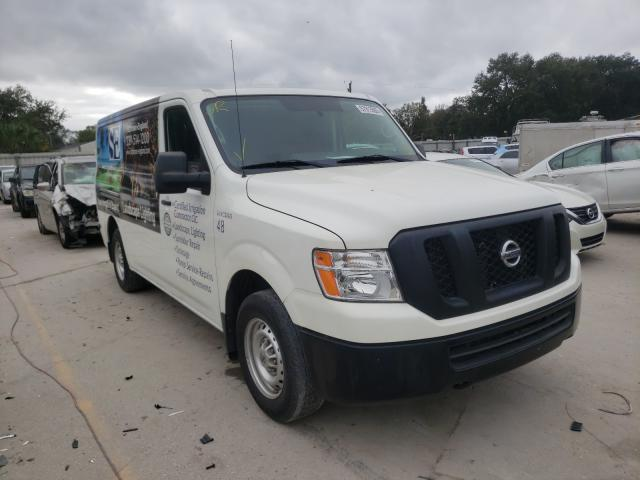 Salvage cars for sale from Copart Punta Gorda, FL: 2019 Nissan NV 1500 S