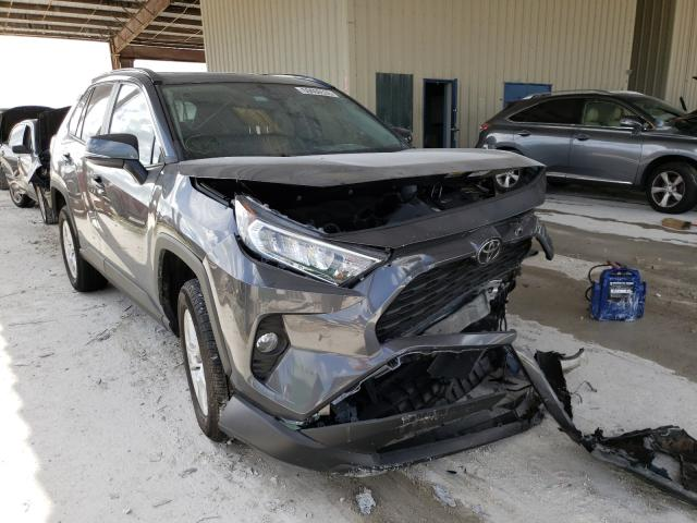 Salvage cars for sale from Copart Homestead, FL: 2020 Toyota Rav4 XLE