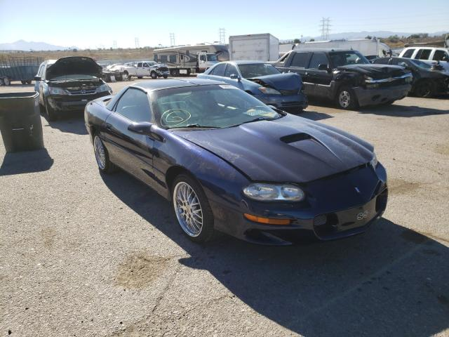 Salvage cars for sale from Copart Tucson, AZ: 2002 Chevrolet Camaro Z28