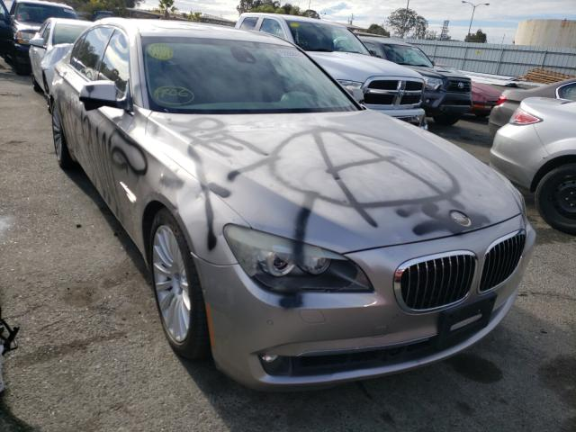BMW 750 LI salvage cars for sale: 2009 BMW 750 LI