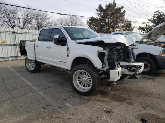 Salvage cars for sale from Copart Moraine, OH: 2017 Ford F250 Super