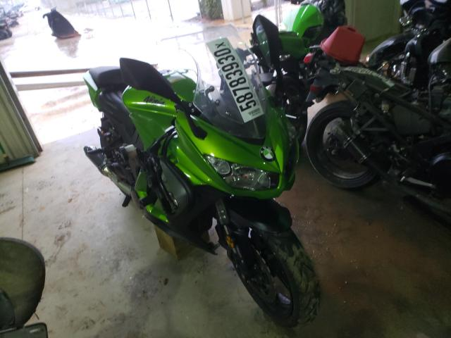 Salvage cars for sale from Copart Tanner, AL: 2014 Kawasaki ZX1000 M