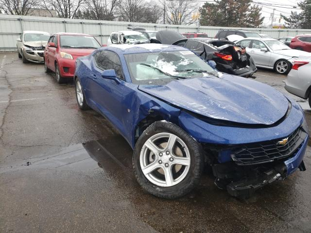 Salvage cars for sale from Copart Moraine, OH: 2019 Chevrolet Camaro LS