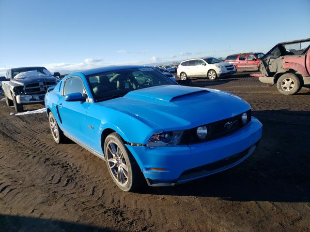 Vehiculos salvage en venta de Copart Brighton, CO: 2011 Ford Mustang GT