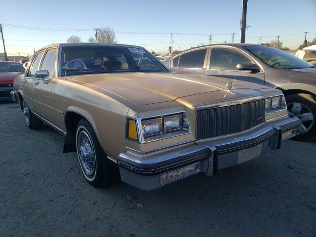 Buick salvage cars for sale: 1985 Buick Lesabre LI