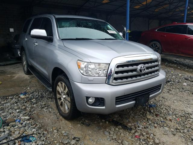 Toyota Sequoia LI salvage cars for sale: 2014 Toyota Sequoia LI
