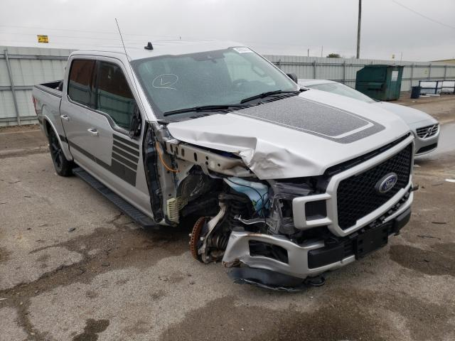 Salvage cars for sale from Copart Lexington, KY: 2019 Ford F150 Super