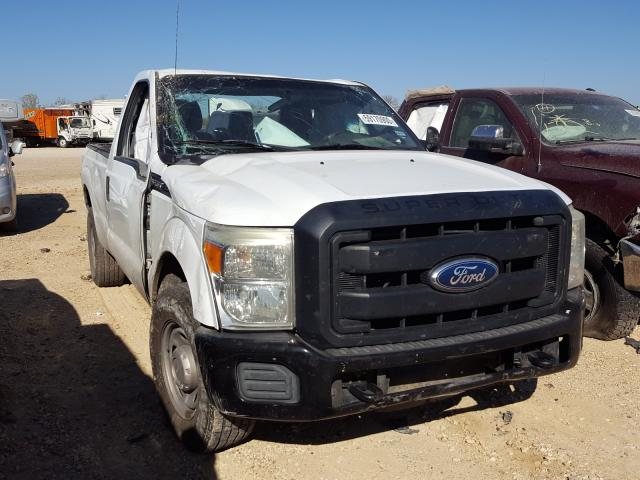 Salvage cars for sale from Copart San Antonio, TX: 2011 Ford F250 Super