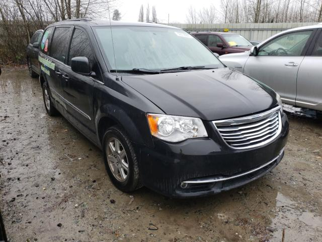 Salvage cars for sale from Copart Arlington, WA: 2012 Chrysler Town & Country