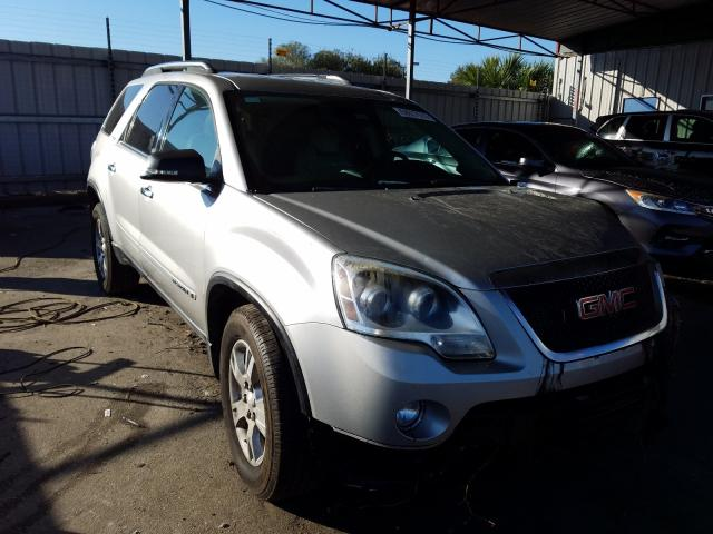 GMC salvage cars for sale: 2008 GMC Acadia SLT