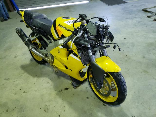 Salvage cars for sale from Copart Waldorf, MD: 2001 Kawasaki ZX600 J1