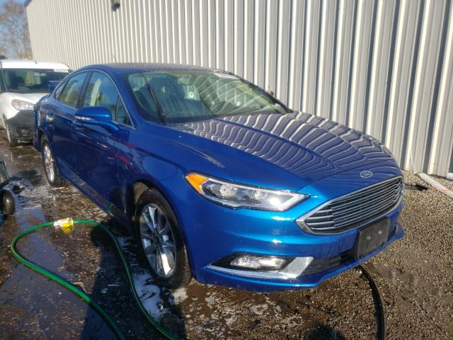 2017 Ford Fusion SE for sale in Harleyville, SC