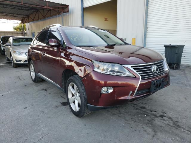 Salvage cars for sale from Copart Orlando, FL: 2013 Lexus RX 350 Base