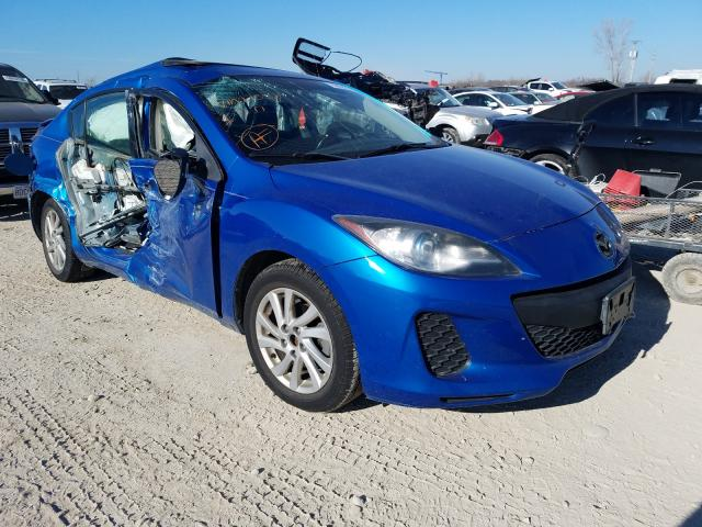 Salvage cars for sale from Copart Kansas City, KS: 2012 Mazda 3
