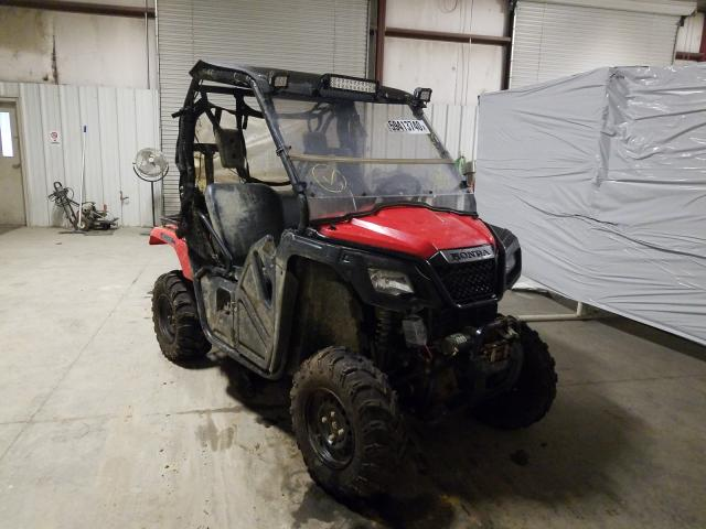 Salvage cars for sale from Copart Hurricane, WV: 2015 Honda SXS500 M