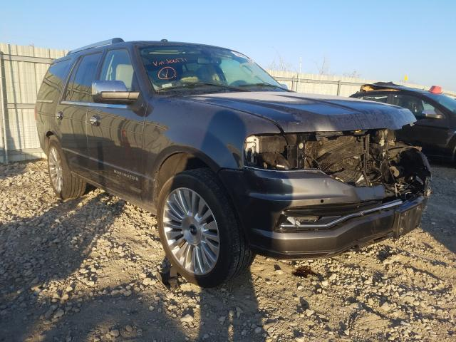 Salvage cars for sale from Copart Kansas City, KS: 2015 Lincoln Navigator