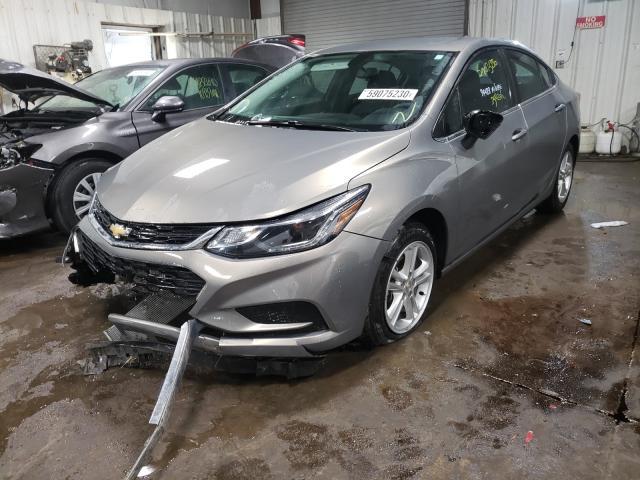 из сша 2017 Chevrolet Cruze Lt 1.4L 1G1BE5SM0H7124935