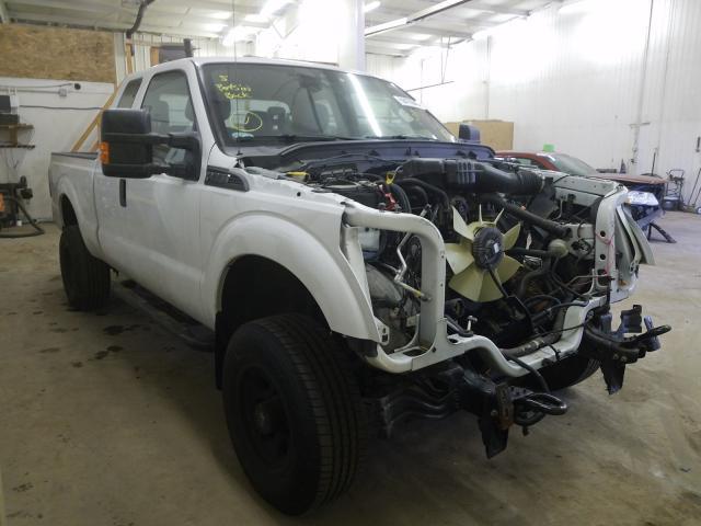 Vehiculos salvage en venta de Copart Ham Lake, MN: 2014 Ford F250 Super