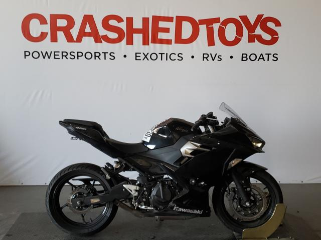 Salvage cars for sale from Copart San Diego, CA: 2019 Kawasaki EX400