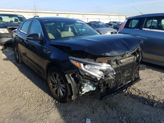 Salvage cars for sale from Copart Walton, KY: 2016 KIA Optima LX