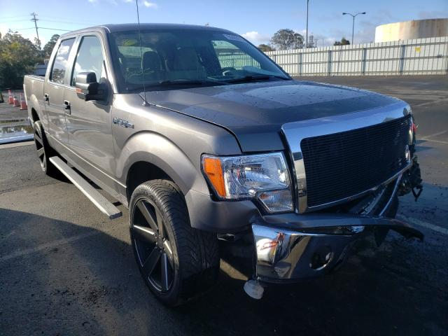 Salvage cars for sale from Copart Martinez, CA: 2010 Ford F150 Super