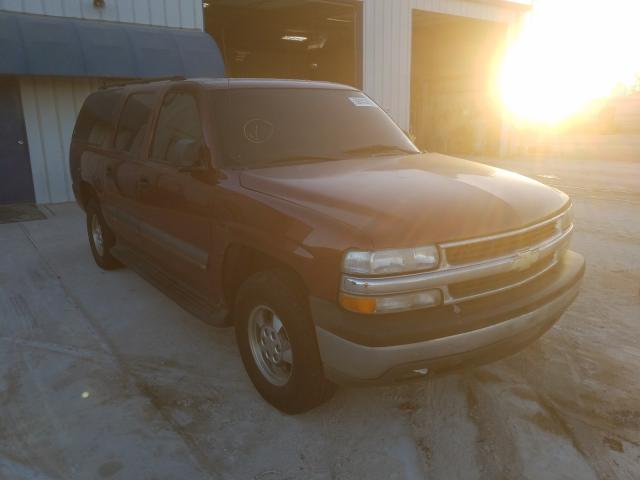 Salvage cars for sale from Copart Abilene, TX: 2003 Chevrolet Suburban C