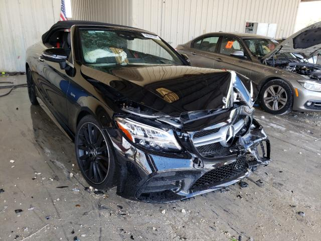 Salvage cars for sale from Copart Homestead, FL: 2019 Mercedes-Benz C 43 AMG