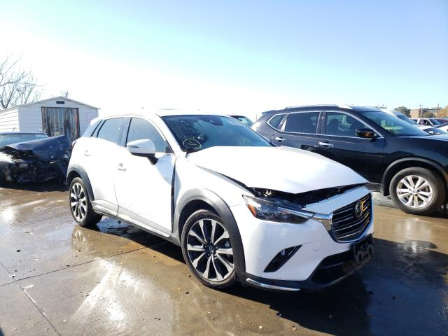 Salvage cars for sale from Copart Grand Prairie, TX: 2019 Mazda CX-3 Grand Touring