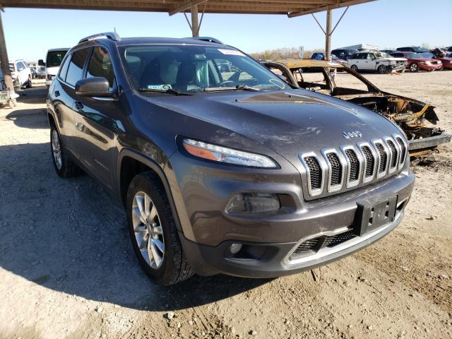 Salvage cars for sale from Copart Temple, TX: 2016 Jeep Cherokee L