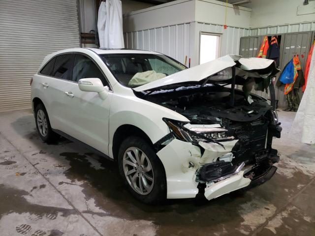 Salvage cars for sale from Copart Leroy, NY: 2018 Acura RDX Techno