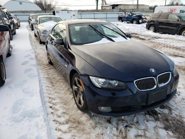 Salvage cars for sale from Copart Hillsborough, NJ: 2008 BMW 3 Series