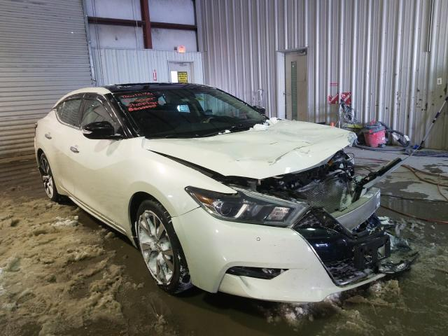 Salvage cars for sale from Copart Albany, NY: 2017 Nissan Maxima 3.5