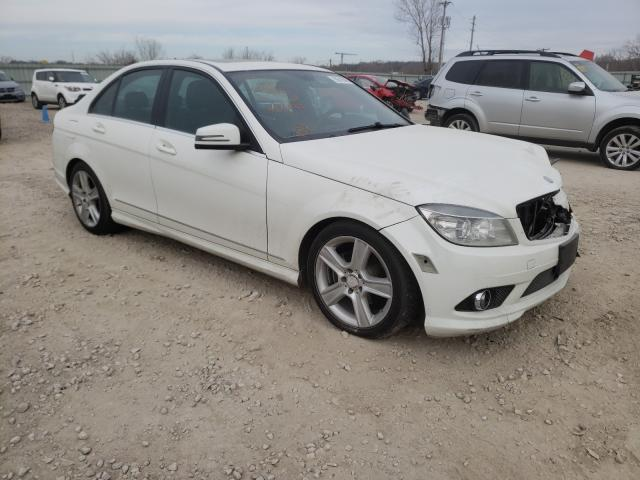 Salvage cars for sale from Copart Kansas City, KS: 2010 Mercedes-Benz C 300 4matic