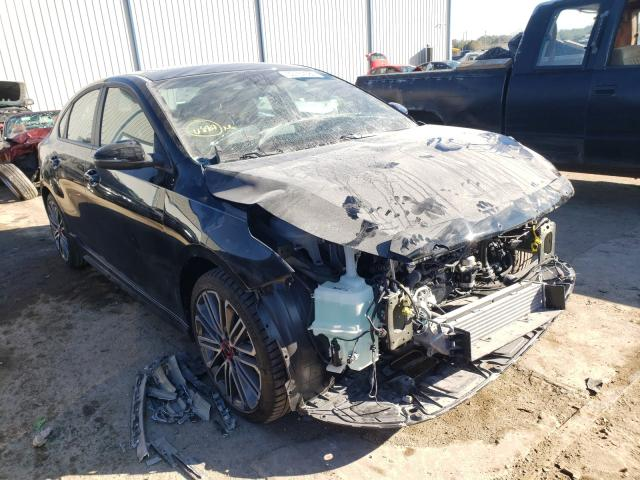 Salvage cars for sale from Copart Apopka, FL: 2021 KIA Forte GT